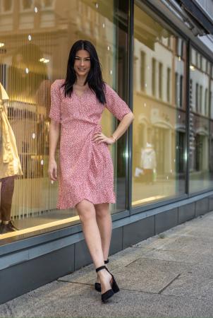 Irina dress - ruby star