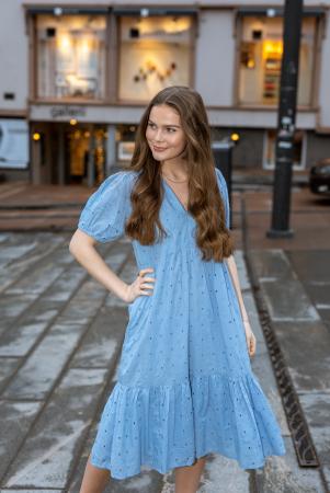 Emely dress - powder blue