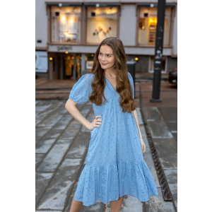 Emely dress - powder blue