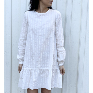 Iker dress  - White