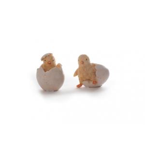 Figur Kylling I Egg assortert 1 stk