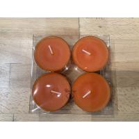 Store telys oransje