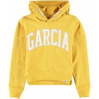 Garcia Teens Girls Sweat Hood Yellow Dust