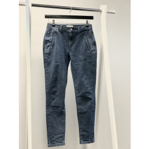Tunja Denim Pant - Medium blue denim
