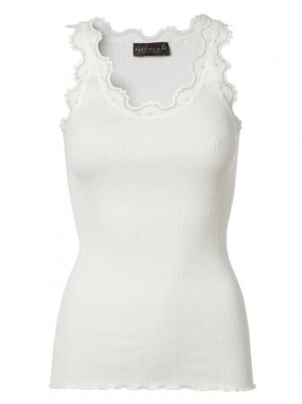 Silktop vintage lace New White