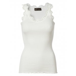 Silktop vintage lace New White