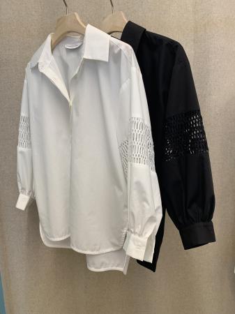 Puff Shirt White