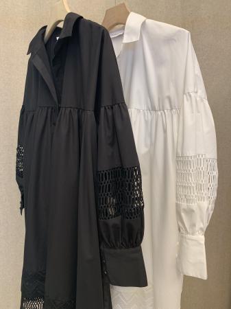 Mesima Shirtdress Black