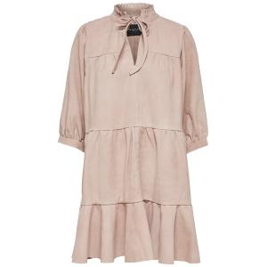 Linda Suede Leather Dress