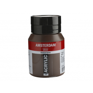 Amsterdam Standard 500ml – 409 Burnt umber