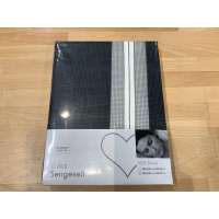 Sengesett Checcy grå 140x220
