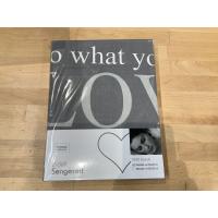 Sengesett Love grå 140x200