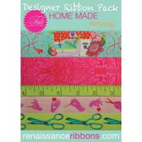 Tula Pink Home Made Morning Designer Ribbon Pack