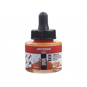Amsterdam Ink 30ml – 311 Vermillion