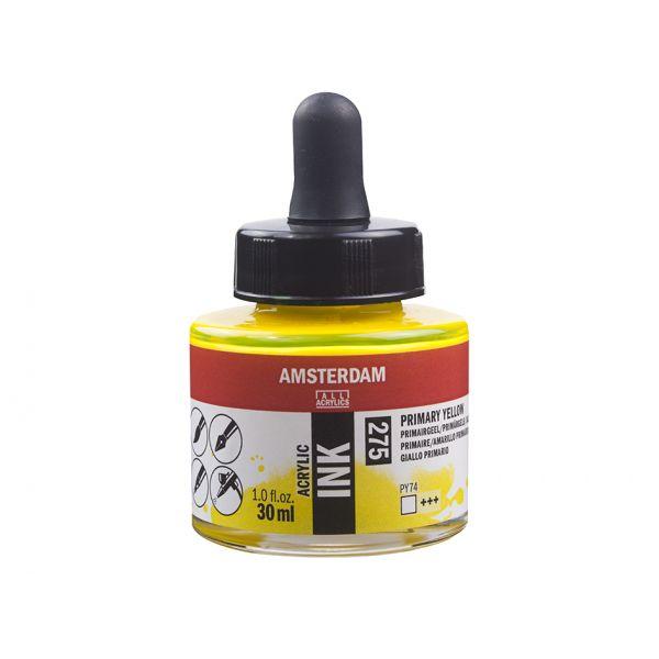 Amsterdam Ink 30ml – 275 Primary Yellow