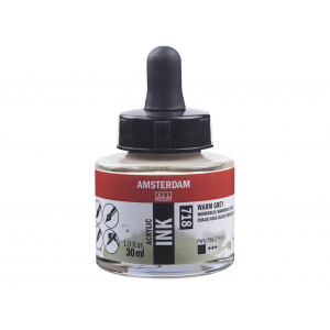 Amsterdam Ink 30ml – 718 Warm Grey