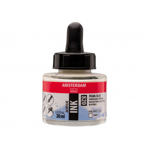 Amsterdam Ink 30ml – 820 Pearl Blue