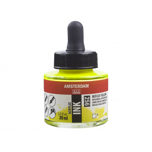 Amsterdam Ink 30ml – 256 Reflex Yellow