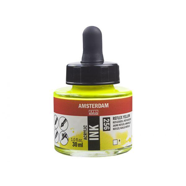 Amsterdam Ink 30ml – 256 Reflex Yellow