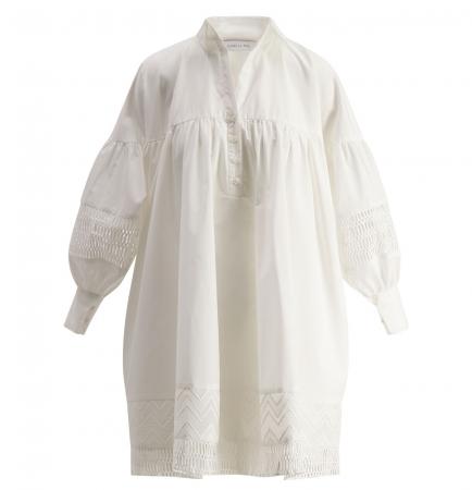 Mesima Shirtdress White