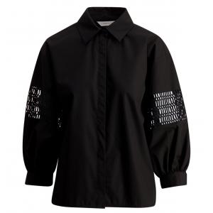Puff Shirt Black