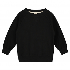GRAY LABEL - CREWNECK SWEATER NEARLY BLACK