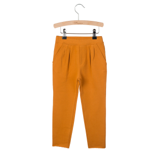 LITTLE HEDONIST - PLEATED TROUSERS KOBUS PUMPKIN SPICE