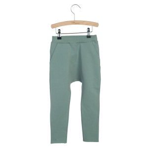 LITTLE HEDONIST - BAGGY PANTS LOU CHINOIS GREEN