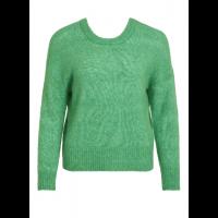 OBJnete knit v-neck green
