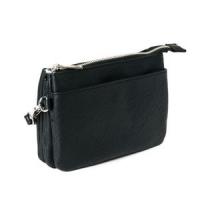 SoNize black Zipper Pocket Purse