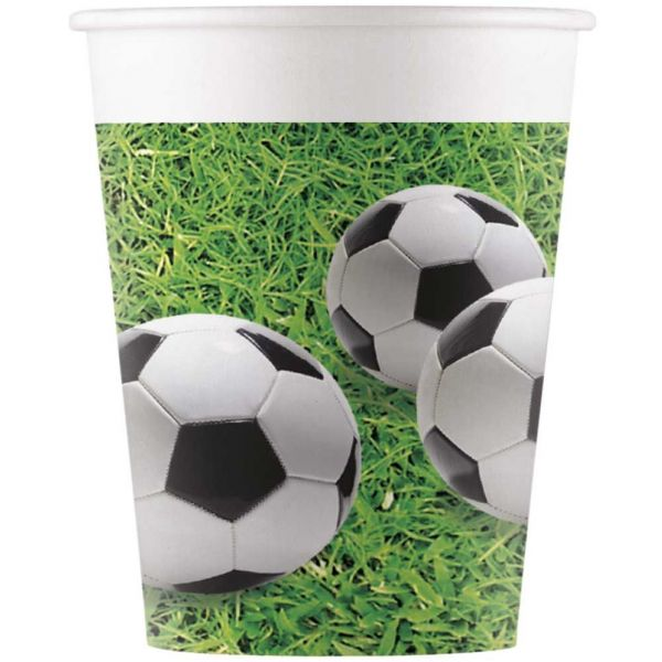 Drikkekrus i Papp, Fotball 8 stk