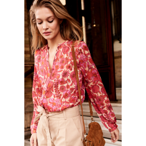 Frida Blouse FlowerCurtain