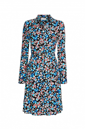 Hayley Dress Riviera Blue