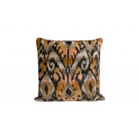 Ullpute i orange mønster Persgaard