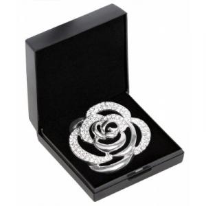 SD Diamond Rose Stock Pin