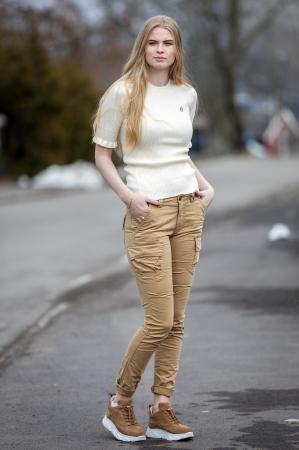 Sanne Short Sleeve Pullover