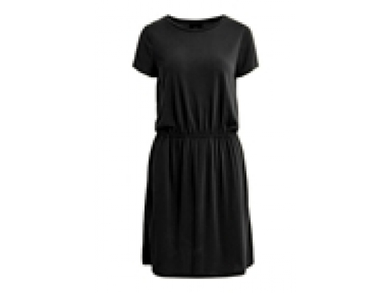 OBJANNIE black MAXWELL S/S DRESS NOOS