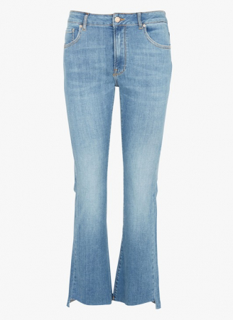 Lottie Jeans - Straight cropped fit