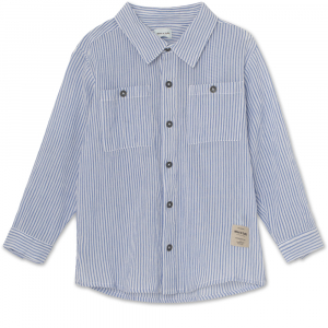 MINI Q TURE - MARTIN SHIRT ASHLEY BLUE