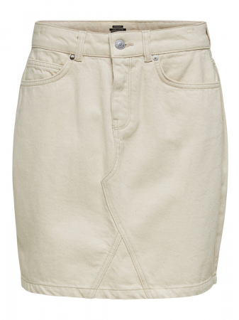 Helena Jade White Denim Skirt