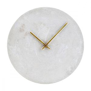 Wall clock, Concrete
