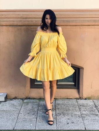 Sunday Morning Mini Dress