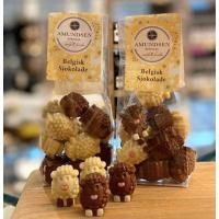 Sjokoladesau i pose