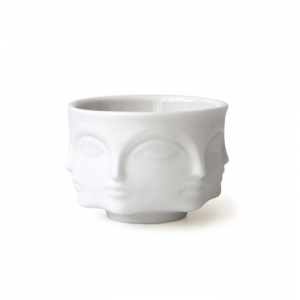 Muse Votive Candle Holder - White