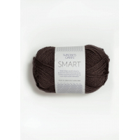 Smart mørk brun 4071