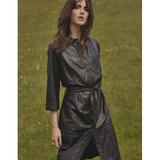 Raymond leather dress