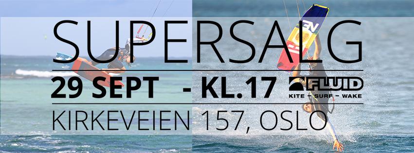SUPERSALG - TORSDAG 29. SEPT KL.17-20