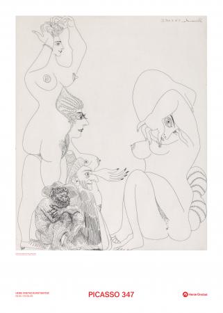 Plakat Picasso No. 6 fra Suite 347
