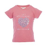 Salto t-shirt «I act with my heart»