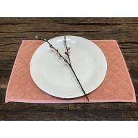 Cord brikke rosa 33x45